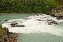 Rearguard falls of the Fraser River Royalty Free Stock Image