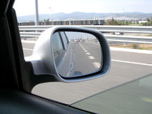 rearview Royaltyfria Foton