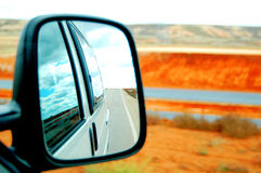 Rearview Royalty Free Stock Photo