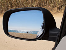 Rearview Royalty Free Stock Photography