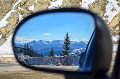 Rearview. Many say never look back, I would have to disagree. You never know what you'll miss if you don't look everywhere Royalty Free Stock Image