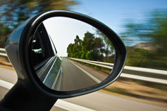 Rearview mirror Royalty Free Stock Photos