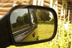 Rearview mirror Royalty Free Stock Photos