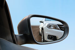 Rearview mirror stock photography