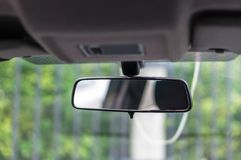 Rearview mirror Royalty Free Stock Photography