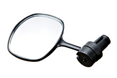 Rearview mirrorfor for bicycle Stock Photos