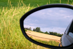 Rearviewmirror Royalty Free Stock Photo