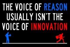 Reason innovation Royalty Free Stock Photography
