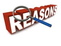 Reasons Stock Photos