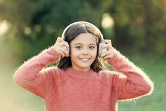 Reasons you should use headphones. Headphones changed world. Headphones bring privacy to public spaces. Active lifestyle. Music play list. Music always with me stock photos