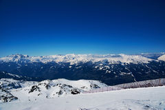 Reasort лыжи зимы Стоковые Фото