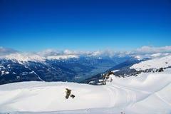 Reasort dello sci di inverno Fotografia Stock Libera da Diritti