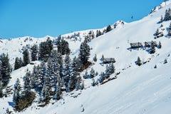 Reasort dello sci di inverno Fotografia Stock