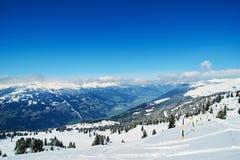 Reasort do esqui do inverno Imagem de Stock