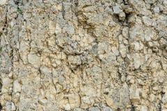 Reator de pedra Textured da entulho do fundo no formulário natural na parede da rocha Imagens de Stock Royalty Free