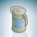 Reattore ad acqua elettrico Fotografia Stock