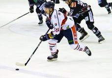 Reavis Ramsey Renon Ritten sport i Devin DiDiomete HC Milano podczas gry Zdjęcie Stock