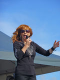 Reba in concert Stock Images