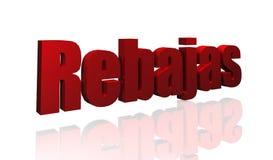 Rebajas Royalty Free Stock Photo