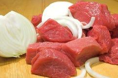 Rebanada #8 de la carne de vaca Fotografía de archivo