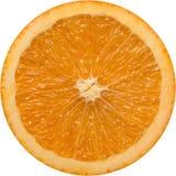 Rebanada anaranjada imagenes de archivo