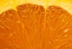 Rebanada anaranjada Fotografía de archivo