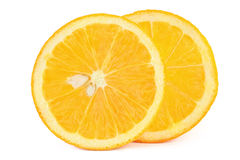 Rebanada anaranjada Imagen de archivo
