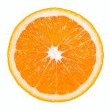 Rebanada anaranjada Fotos de archivo