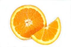 Rebanada anaranjada Imagen de archivo libre de regalías