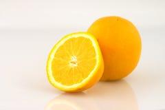 Rebanada anaranjada Foto de archivo libre de regalías