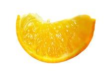 Rebanada anaranjada Fotografía de archivo libre de regalías