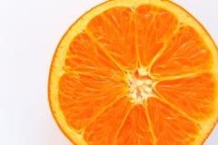 Rebanada anaranjada con el fondo foto de archivo libre de regalías