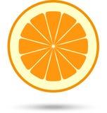 Rebanada anaranjada Ilustración del vector Foto de archivo libre de regalías