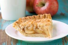Rebanada de empanada de manzana Imagen de archivo libre de regalías