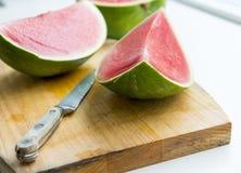 Rebanada de la fruta de la sandía Imagen de archivo libre de regalías
