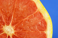 Rebanada de la fruta de la uva roja foto de archivo libre de regalías