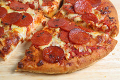 Rebanada de la pizza Imágenes de archivo libres de regalías