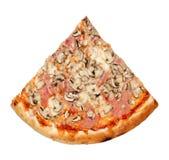 Rebanada de la pizza fotografía de archivo