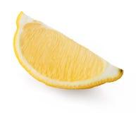 Rebanada de limón Fotografía de archivo