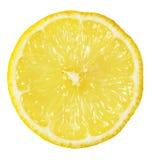 Rebanada de limón Foto de archivo libre de regalías