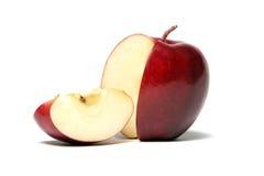 Rebanada de manzana Foto de archivo libre de regalías