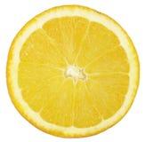 Rebanada de naranja imagenes de archivo