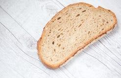 Rebanada de pan imágenes de archivo libres de regalías