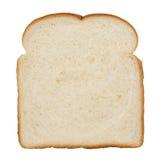 Rebanada de pan blanco imagen de archivo libre de regalías