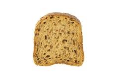 Rebanada de pan del grano con el molde imagenes de archivo
