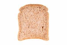 Rebanada de pan integral Foto de archivo libre de regalías