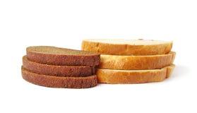 Rebanada de panes. Fotos de archivo