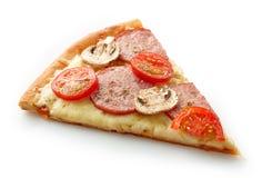 Rebanada de pizza foto de archivo libre de regalías