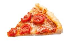 Rebanada de pizza sabrosa Foto de archivo