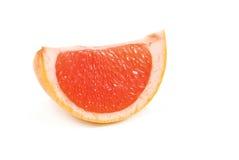 Rebanada de pomelo Imagen de archivo libre de regalías